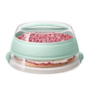 Emsa Boîte à gâteau rétractable pour transport MyBakery