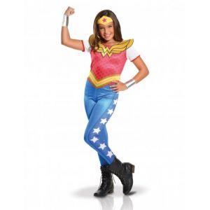 Déguisement classique fille Wonder Woman Superhero Girls