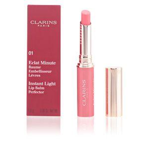 Clarins Eclat Minute 01 Rose Shimmer - Baume embellisseur lèvres