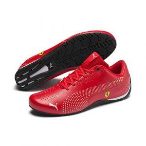 Puma Chaussure Basket Ferrari Drift Cat 5 Ultra II, Rouge/Blanc, Taille 43