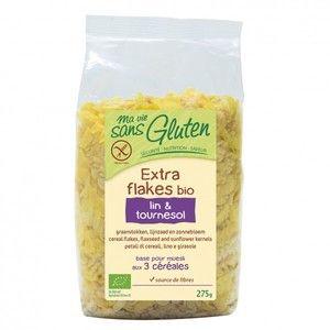 Ma vie sans gluten Extra flakes lin & tournesol 275g