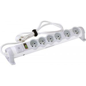 Legrand Rallonge Multiprise Confort et Sécurité Indicateur de Surcharge 6X 2P+T 3G1,5