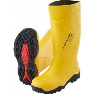 Dunlop Botte de sécurité Purofort+,S5, Taille 48, jaune