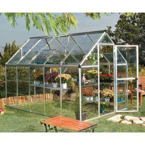 Chalet et Jardin Polycristal 106 - Serre de jardin en alu et polycarbonate 5,70 m2