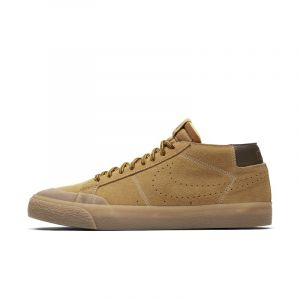 Nike Chaussure de skateboard SB Zoom Blazer Chukka XT Premium - Marron - Taille 40 - Homme