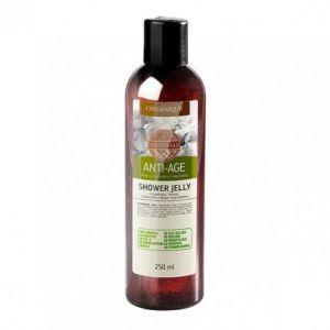 Organique Anti-âge, Gel douche à l'huile d'argan et à l'extrait de Perle (250 ml)