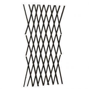 Treillis extensible en osier épais 120 x 180 cm