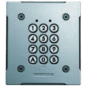 Aiphone Digicode encastré antivandale rétro-éclairé 100 codes 2 relais AC10F