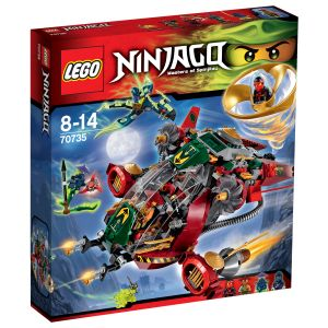 Lego 70735 - Ninjago : Le jet hybride de Ronin