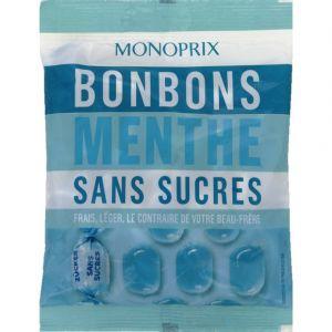 Monoprix Mini bonbons menthe - Le paquet de 110g