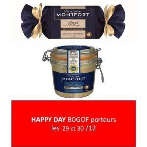 Maison Montfort Grand Héritage - Foie gras de canard entier recette à l'ancienne torchon - origine igp sud-ouest pi