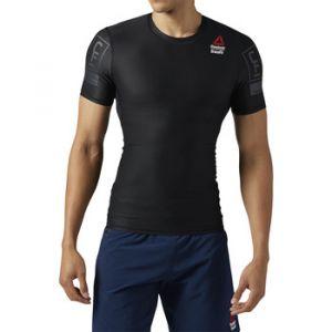 Reebok T-shirt Sport Crossfit Compression Tee Noir - Taille EU S,EU L