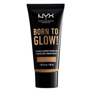 NYX Cosmetics Fond de teint Born to Glow! - BTGRF13: Golden - 30 ml