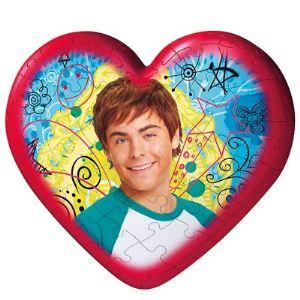 Ravensburger Puzzle Ball Coeur: High School Musical 2, 60 pièces
