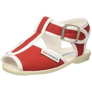 Superga 1200-COTJ Chaussures à lanières, bébé FilleRouge (Rosso 970) 29 EU