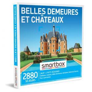 Smartbox Coffret cadeau Belles demeures et châteaux