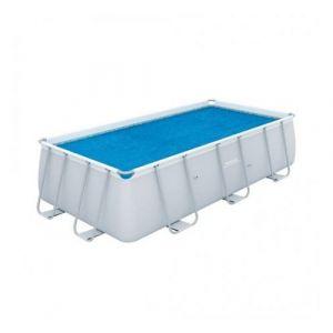 Bestway Bâche à bulles pour piscine tubulaire RECTANGULAIRE