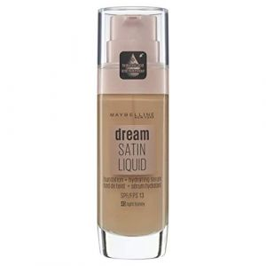 Maybelline Gemey Dream Satin Liquid Foundation 45 Light Honey (30ml)