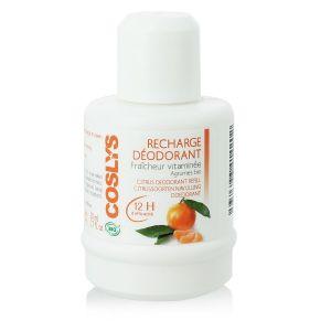 Coslys Fraîcheur vitaminée - Recharge déodorant Agrumes Bio