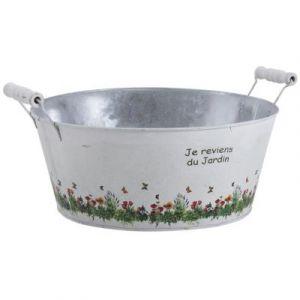 Aubry Gaspard Jardinière bassine Je reviens du jardin -