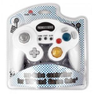 Trade Invaders Manette avec fonction turbo et slow pour Gamecube / Wii