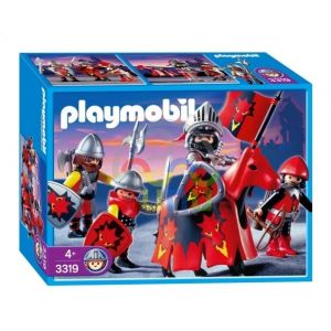 Playmobil 3319 - Chevaliers Dragon rouge