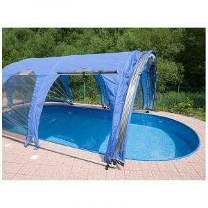 Poolmarina Abri Mobile de Piscine Azuro FitMarina Ovale 4.9 x 8.9 x 2.6 m