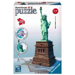 Ravensburger Statue La Liberté - Puzzle 3D 216 pièces