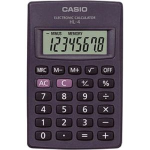 Casio HL-4A - Calculatrice de poche