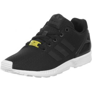 Adidas ZX Flux, Baskets Basses Mixte Enfant, Noir (Black/Black/White), 36 2/3