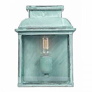 Elstead Applique Murale Old Bailey 1x100W - Vert-de-Gris - LIGHTING - oldbaileyverdi