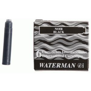 Waterman Etui de 6 cartouches de mini encre
