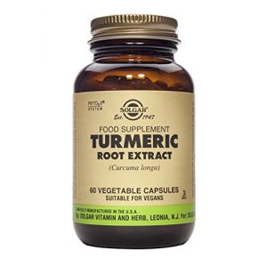 Solgar Extrait de racine de curcuma (curcuma longa) - 60 gélules végétales