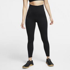 Nike Legging de training 7/8 Femme - Noir - Taille M - Female