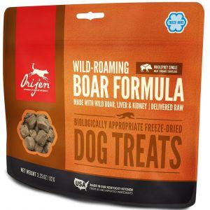 Orijen Wild Boar Dog Treats pour chien 42.5 g