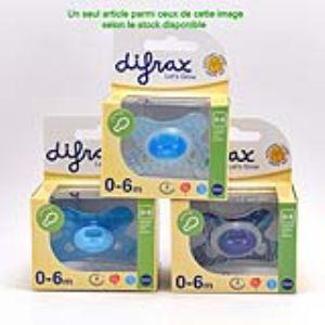 Difrax Sucette réversible Combi (0-6 mois)
