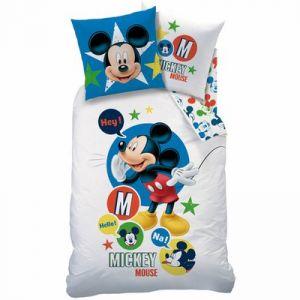 Parure housse de couette Mickey expression (140 x 200 cm)