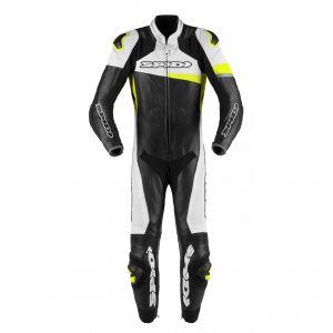 Spidi Combinaison RACE WARRIOR PERF noir/jaune fluo - IT-50