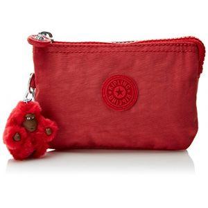 Kipling Creativity S - Porte-monnaie femme Rouge (Spicy Red C) - 14.5x9.5x0.1 cm (B x H x T)
