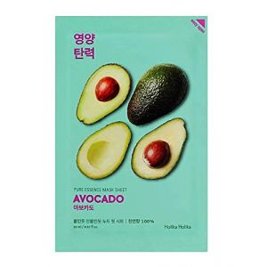 Holika Holika Pure Essence Mask Sheet - Avocat - Hydratant - 20 ml