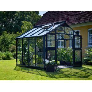 Juliana Premium - Serre verre 8,8 m² (2,96 x 2,96 x 2,67 m)