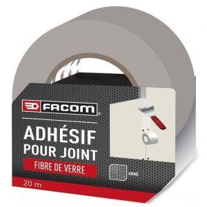 Facom Adhésif pour joint fibre de verre 20m x 48mm - Adhésif pour joint fibre de verre 20m x 48mm - Idéal pour masquer de légères fissures et imperfections.