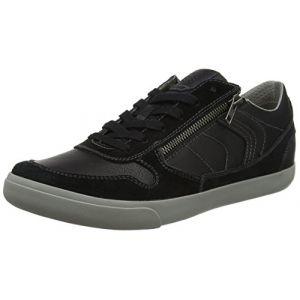 Geox U Box C, Baskets Basses Homme, Noir (Black), 43 EU