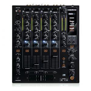 Reloop Table de mixage Club DJ RMX-60/80/90 Digital - 4+1 canaux avec 8effets de DSP Beat intégrés, affichage LCD, égaliseur 3bandes (Kill/Classic), courbes Line et Crossfade (réglable) et compatible Innofader (noir) pas de hub USB Noir