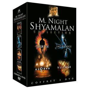 Coffret M. Night Shyamalan - Sixième sens + Incassable + Le village + Signes