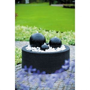 Ubbink Kit fontaine de jardin Acqua Arte London avec éclairage LED