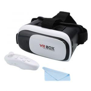 Lunette Casque VR Box Réalité Virtuelle 3D Goggle + Télécommande Gamepad