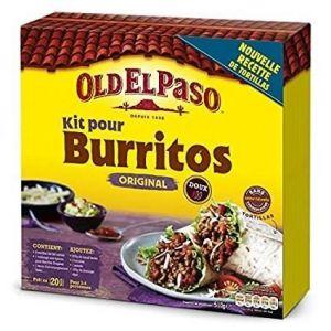 Old el paso Kit pour burritos original doux - Le paquet de 510g
