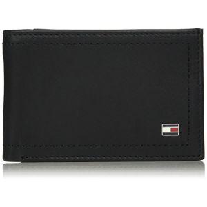 Tommy Hilfiger Mini portefeuille italien Harry en cuir noir