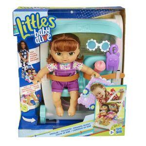 Hasbro Littles by Baby Alive - Poupon et sa poussette